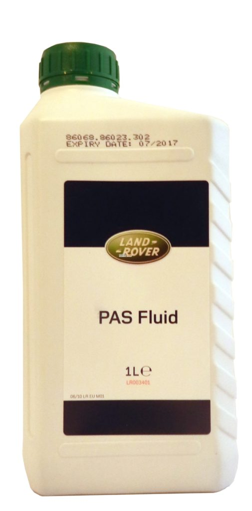 Масло трансмиссионное Land Rover PAS Fluid (1л)