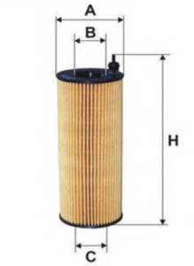 Фильтр масляный Bosch 7072