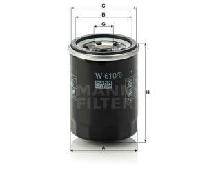 Mann Filter w610/6 avtonn.expert