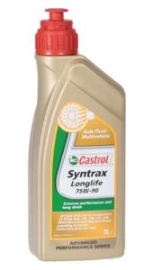 Масло трансмиссионное 75W-90 CASTROL 1л SYNTRAX LONGLIFE
